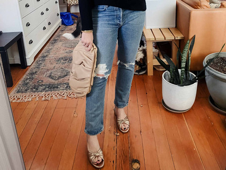 My Favorite Sustainable Straight Leg Jeans, Styled