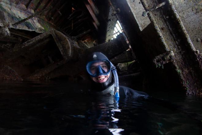 Happy Snorkeler