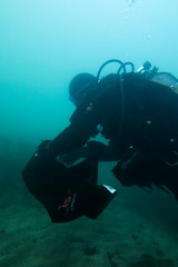 Dive against Debris in Scapa Flow