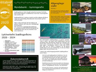 5. fréttabréf Svæðisgarðsins 2020