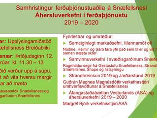 Áhersluverkefni í ferðaþjónustu á Snæfellsnesi 2019 og 2020