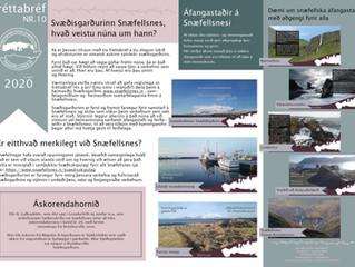 10. Fréttabréf Svæðisgarðsins 2020