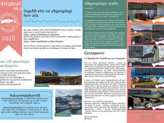 8. Fréttabréf Svæðisgarðsins 2020