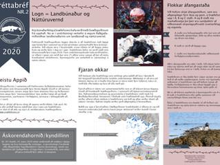 2. fréttabréf Svæðisgarðsins 2020