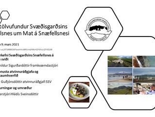 Opinn fundur um mat á Snæfellsnesi þriðjudaginn 9. mars kl. 15 - 16
