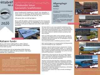 6. fréttabréf Svæðisgarðsins 2020