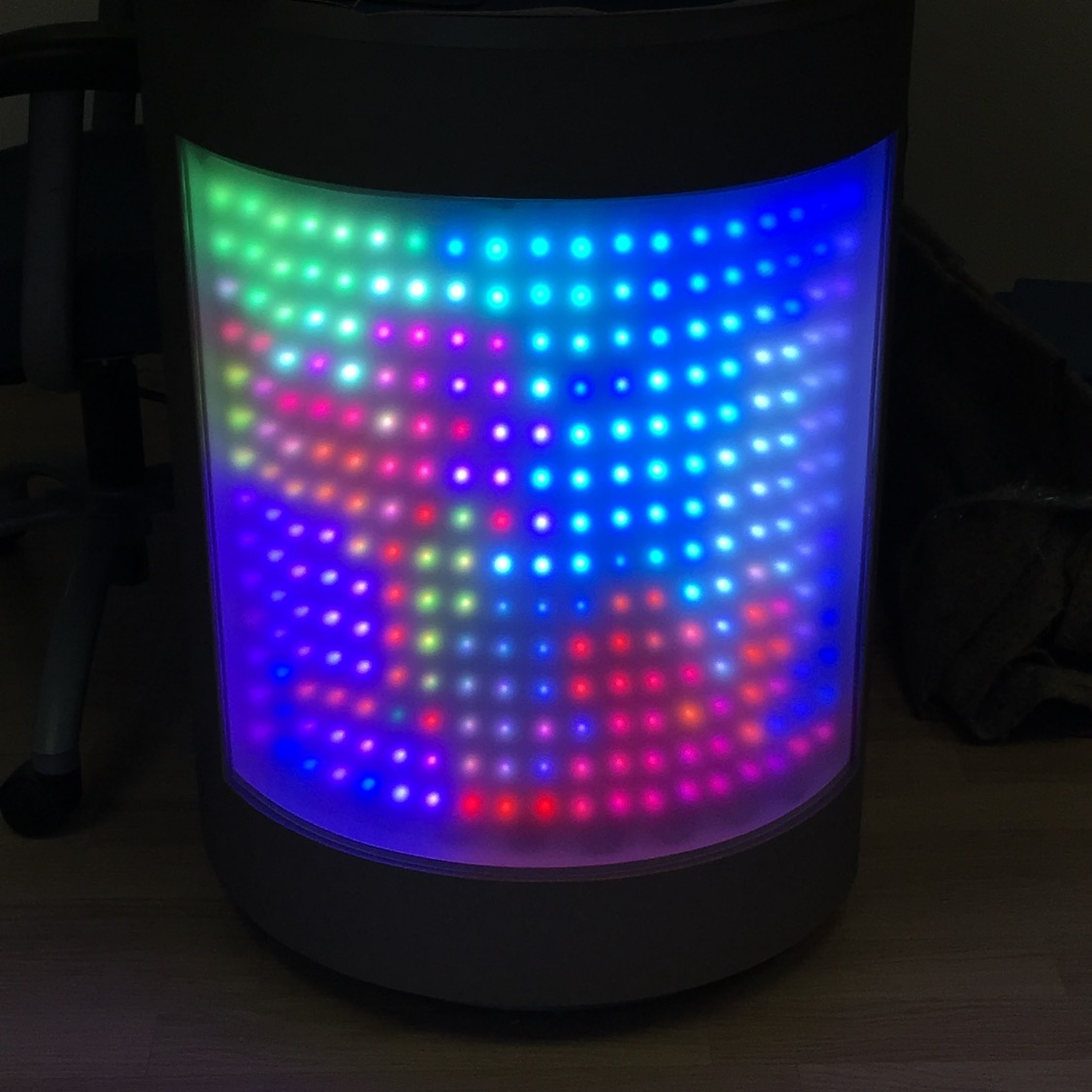 LED Computer Table
