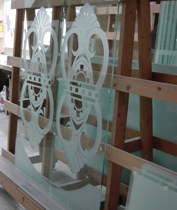 Glass Door Panels To Ship