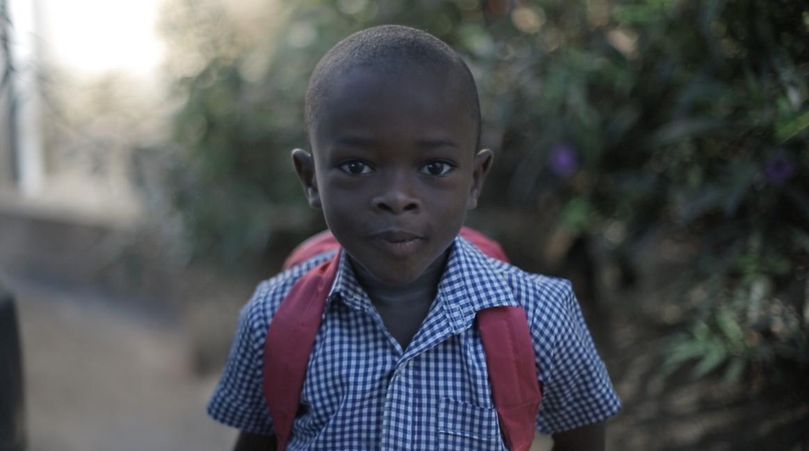 slice of sunshine Fondwa orphanage school day