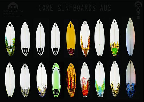 Craig Heath Core Surfboards