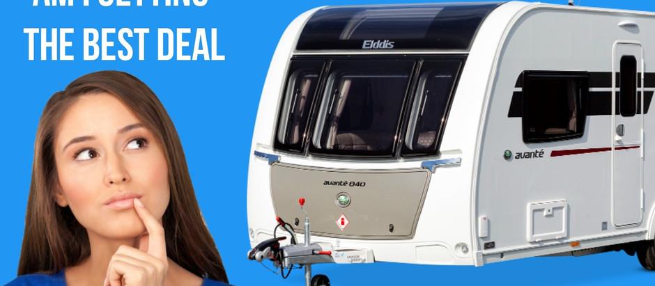 How to negotiate a better price when buying caravan