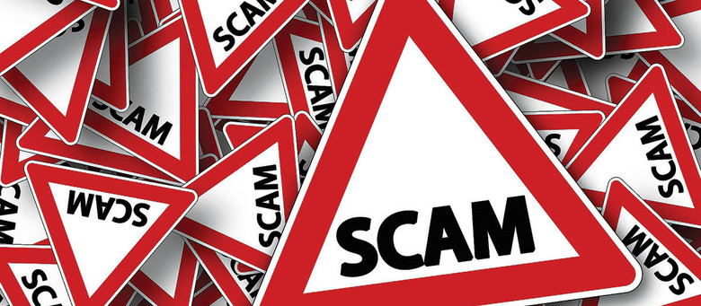 Scams when buying a caravan online