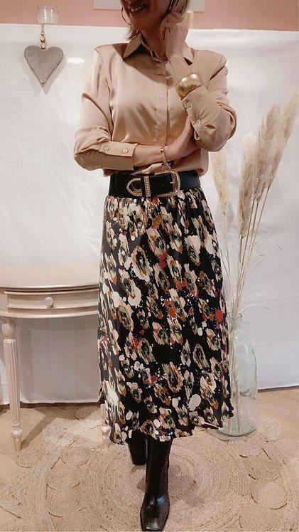 Jupe longue colorée