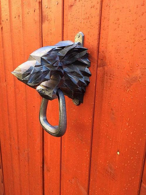 dire wolf door knocker