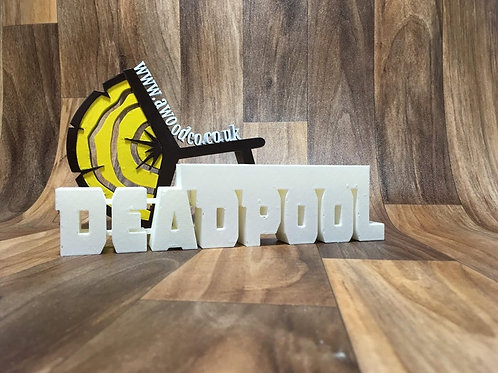 deadpool pencil holder 3d print