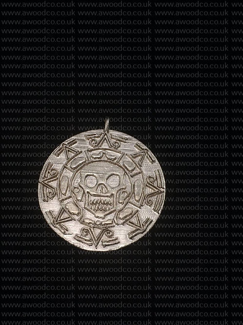 pirates of the caribbean coin pendant