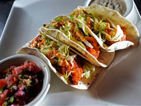 Boom Boom Shrimp Tacos