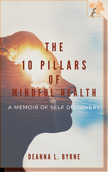 10 Pillars of Mindful Health Book Cover.
