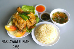 Fuziah Nasi Ayam Bazar Bulat