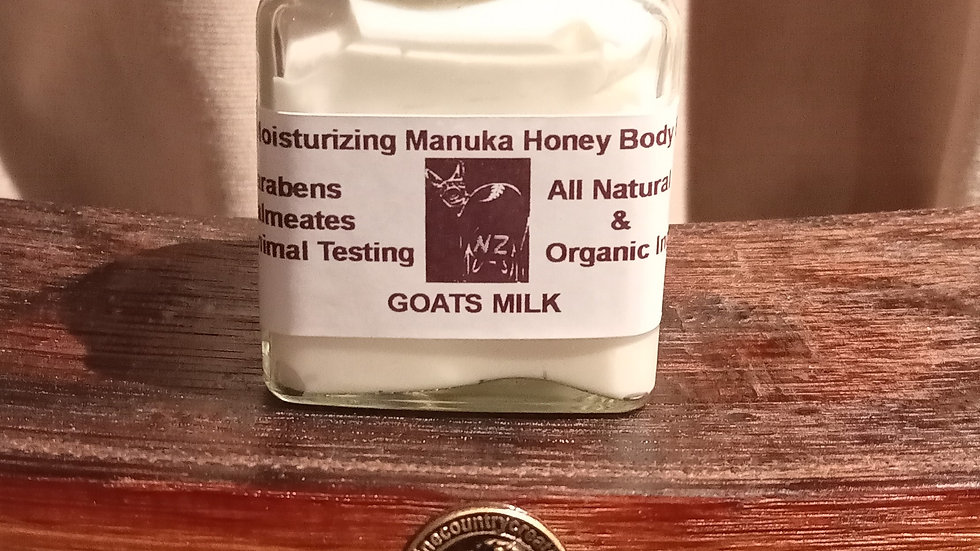 Manuka Honey and Goats Milk  Lotion 100 ml