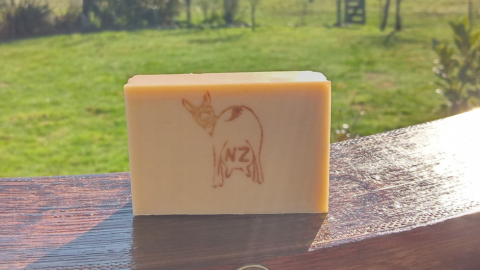 PURE GOLD Scent Free Goats Milk Soap 100gm