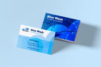 Blue Wash, Carwash Bowral, Australia