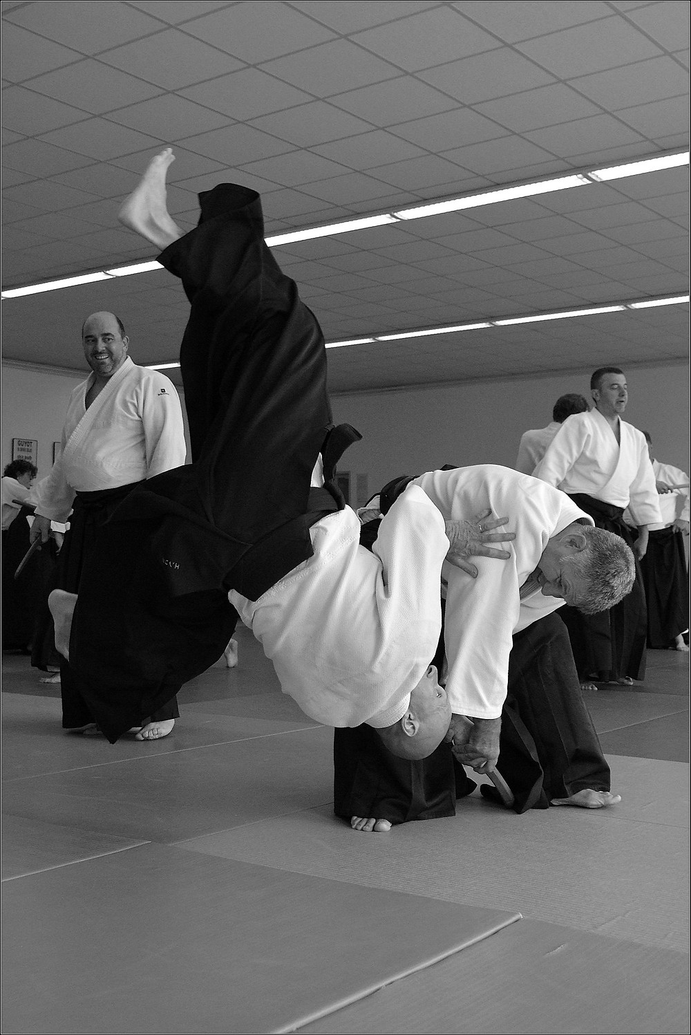Luc Bouchareu Aikido