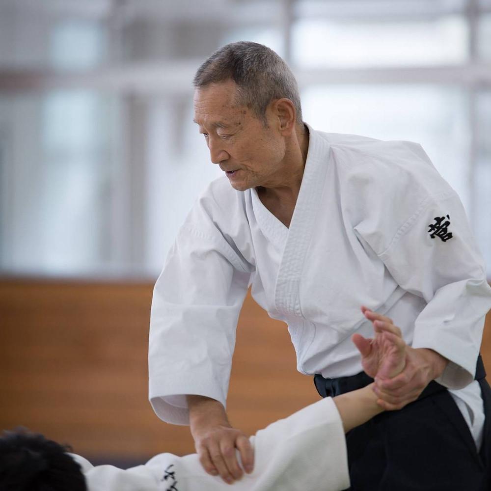 Aikido Morito Suganuma sensei