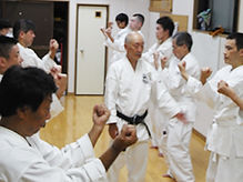 wagodojo karate pratiquer le karate au japon