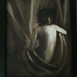 Oil - Woman Figure