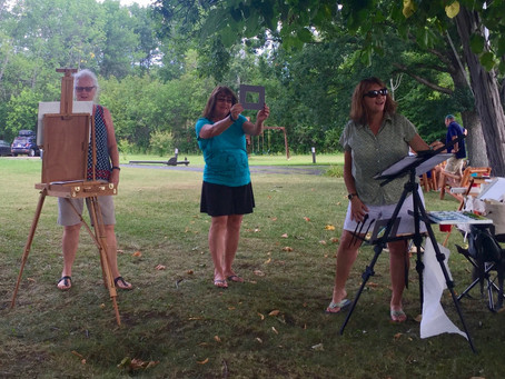 Watercolor Exploration Day 5 - Lake Champlain Yacht Club