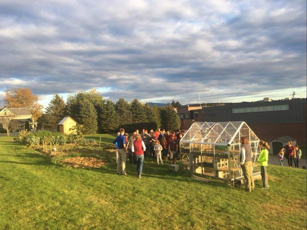 BFA Fairfax hosts a community dinner on the School Farm
