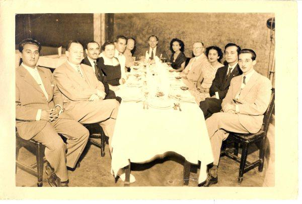 PAPI, OMA LUCY, TIA BETTY, KICZY, TIA MARTHA -- JUNIO 28 1950, Guayaquil