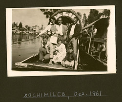 Grunewald Family in Mexico City on a stop to San Diego from our emigration from Ecuador-- December 1