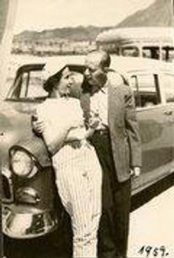 Dita (nee Ginsberg) and Erwin Gumpel -- 1959