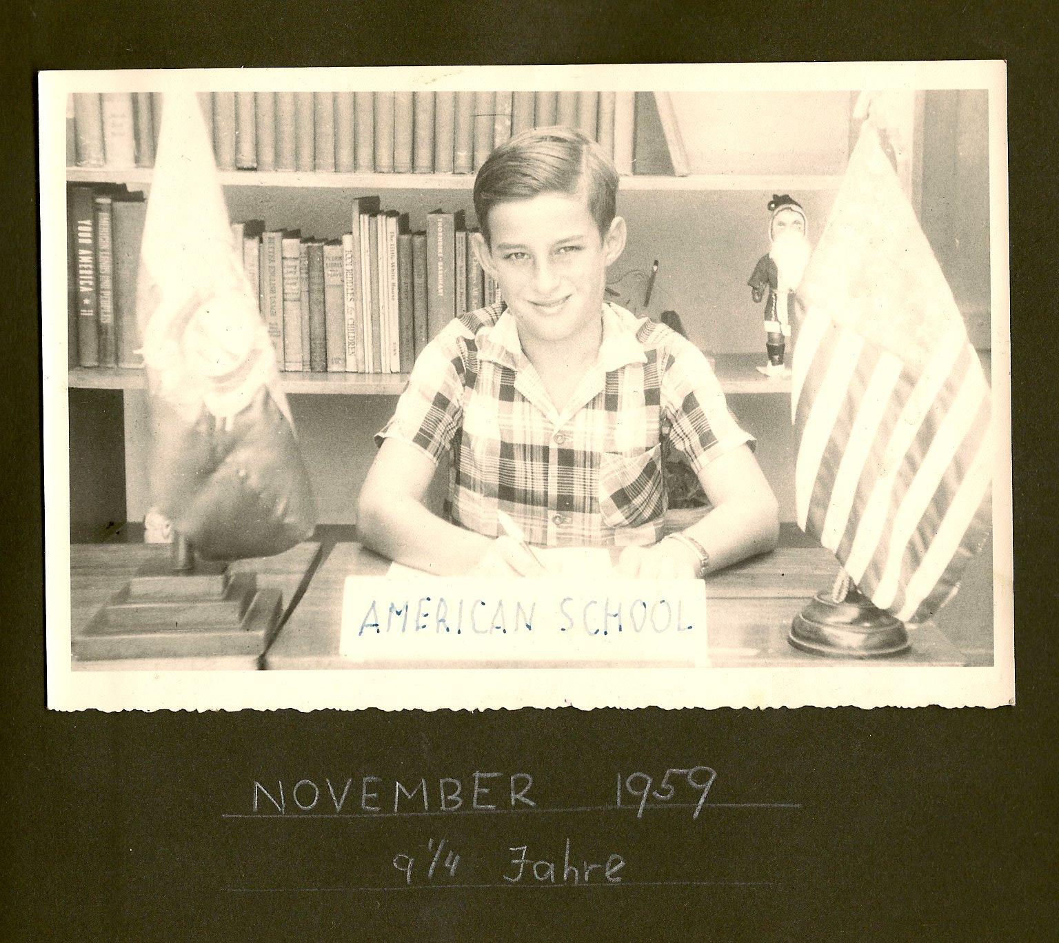 Fred Grunewald _ Escuela Americano -- 1959, Guayaquil