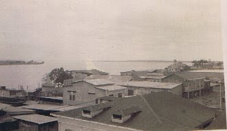 From the terrace of _Casa Frutal_ in Guayaquil, where we lived -- 1941