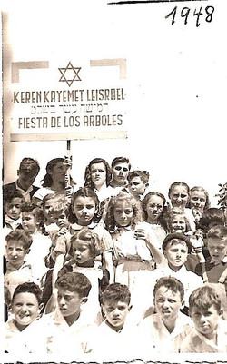 Karen Kayemet youth -- 1948, Quito