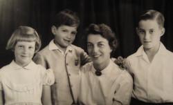 Peggy, Ralph, Ilse (nee Koppel), and Fred Grunewald -- ca.jpg
