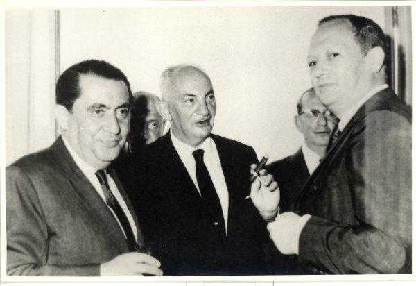 From left_ Alfred Czarninski, John Koppel, and Arturo Fischler