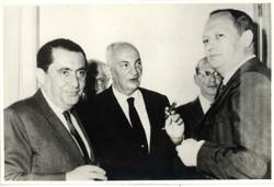 From left_ Alfred Czarninski, John Koppel, and Arturo Fischler