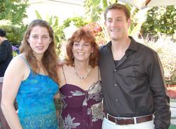 From left_  Madelyn Grunewald, Peggy Ratner (nee Grunewald) & Eric Ratner -- 2008, Chula Vista, CA