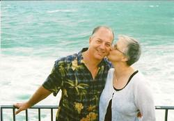 Ralph & Marilyn Grunewald (nee Prooth) -- 2009, Akko, Israel