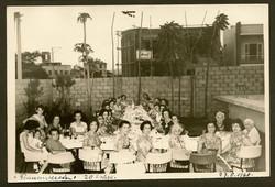 20th anniversary celebration of the Frauenverein -- Centro Israelita -- August 27, 1960, Guayaquil