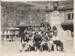 I'm sending you photos from my sister, as a girl scout, and as a student at the colegio Guayaquil.jp