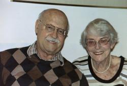 Heinz Grunewald and Ilse Grunewald (nee Koppel) -- 2005, San Diego, CA