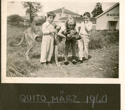 Ralph Grunewald (left) -- 1960, Quito