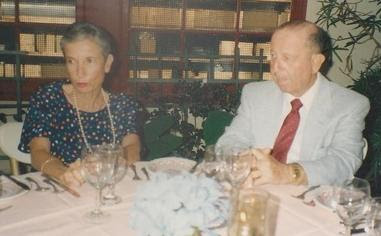 From left_  Dita Gumpel (nee Ginsberg) & Erwin Gumpel -- (undated)