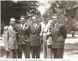 From left_ Herbert_, Egon Schwarz, Herbert Marz, Elio Schaechter, Fritz Adler -- ca.jpg