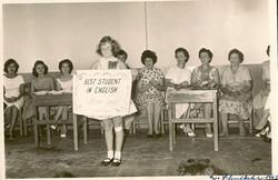 Peggy Grunewald _ Escuala Americano -- 1961, Guayaquil